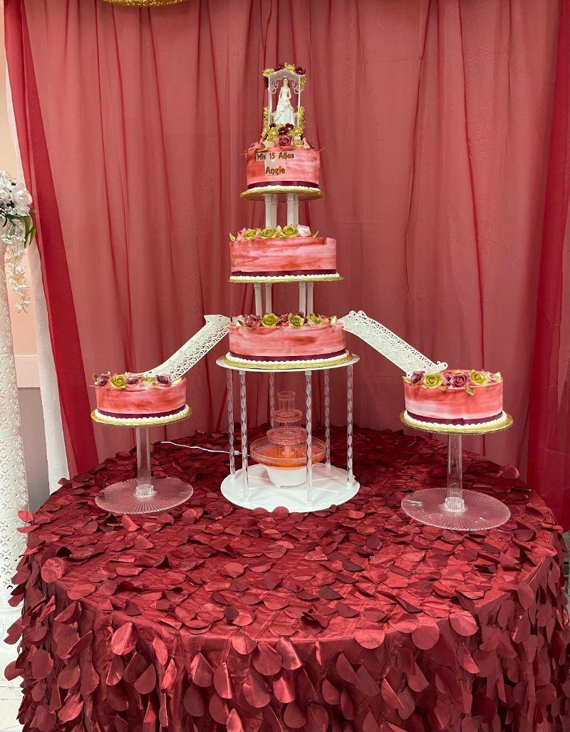 Fountain Cakes